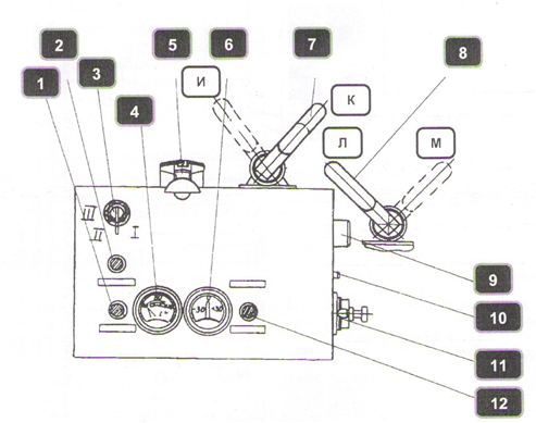 Схема электрооборудования 1